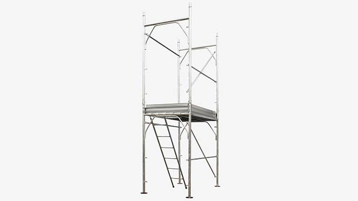 Pin-type scaffolding