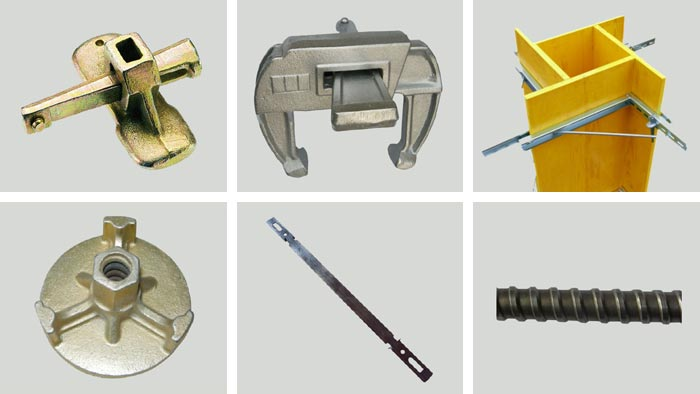 Accessories for formwork