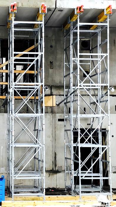 Torres de carga o torri di puntellazione GBM