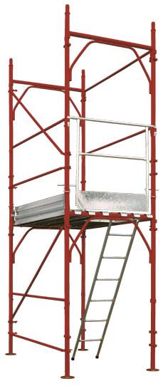 GBM - Bushing-type scaffolding