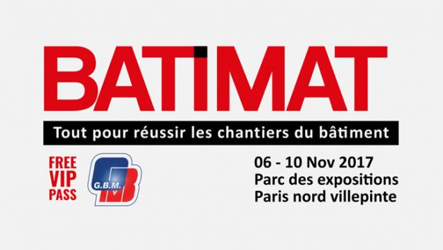 Batimat 2017: GBM gives away free entrance tickets