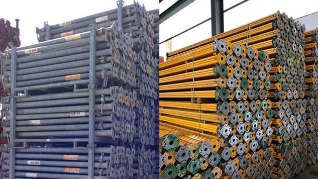 Gebrauchte Stützen von PERI, Doka ´und Hünnebeck: Entdecken Sie, wie Sie Ihre Baustellenkosten mit GBM um 50 % senken können.