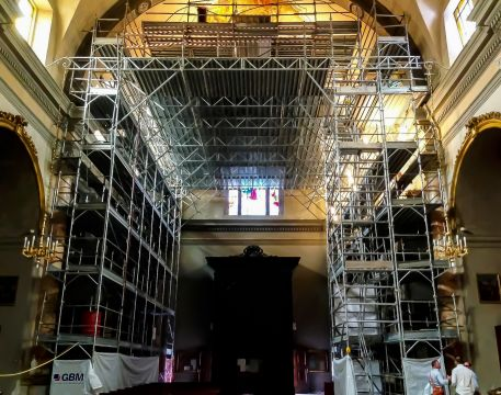 ITALIAN CHURCH RENOVATION 1