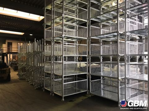 GALVANISED PALLETS FOR PARTS 1
