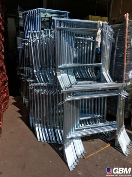GALVANIZED EXTENSIBLE SCAFFOLDING 1