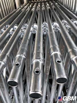 DETAIL OF TAPERING IN GALVANISED BUSHING-TYPE SCAFFOLDING 1