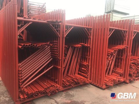 USED REPAINTED CTS PIN TYPE SCAFFOLDING 2
