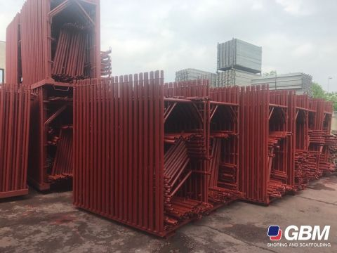 USED PIN-TYPE CTS SCAFFOLDING REPAINTED 1