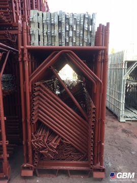 USED REPAINTED MESSERSI BUSHING-TYPE SCAFFOLDING 3