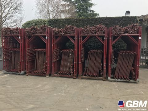 USED BUSHING-TYPE SCAFFOLDING REPAINTED EUROTEMPO 1