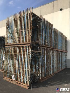 USED BUSHING-TYPE SCAFFOLDING MESSERSI 1