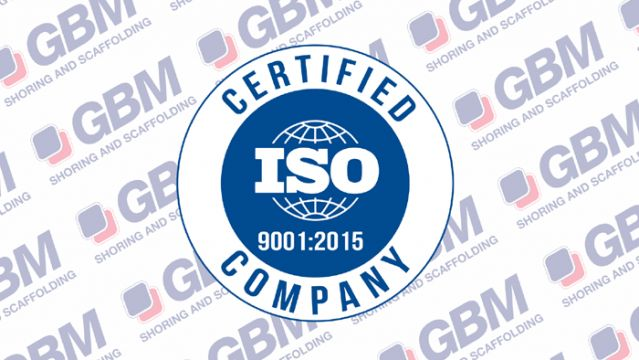 September: 2018: GBM obtains the certification ISO 9001:2015. What does it mean?