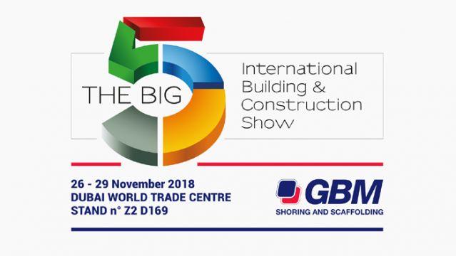 The Big 5 - Dubai - 26 - 29 Novembre 2018