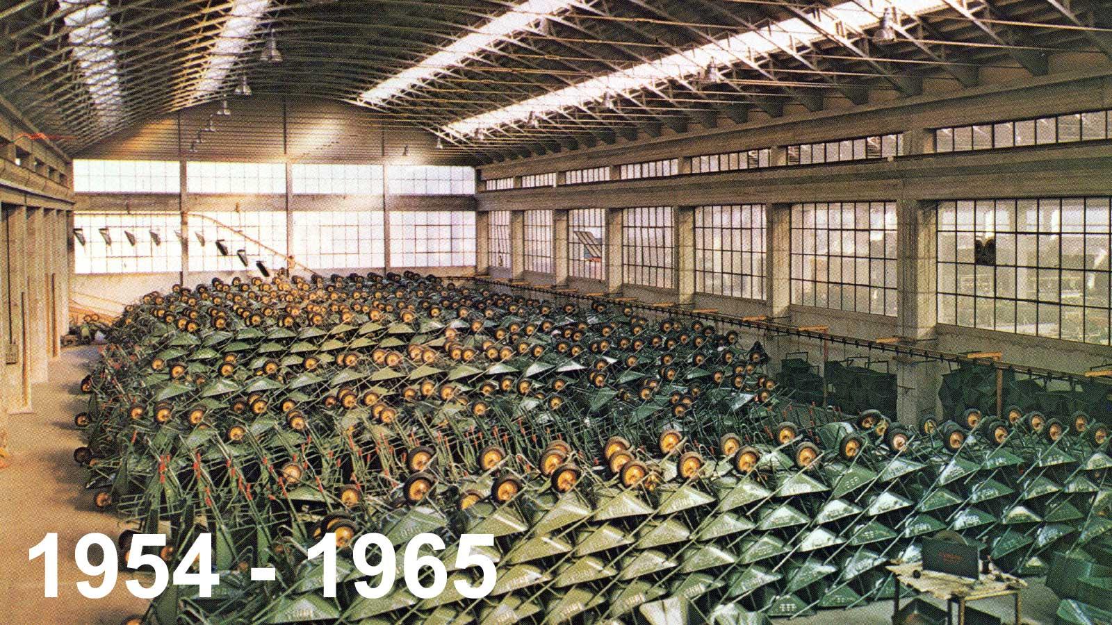 Ponteggi Goffi Jolly - Il primo stabilimento per la produzione di carriole