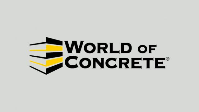 World of Concrete - Las Vegas - 22 - 25 January 2019