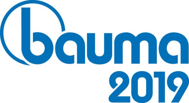 BAUMA 2019 - 8-14 APRIL 2019