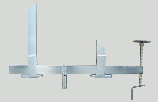 Clamp for edge drop beam