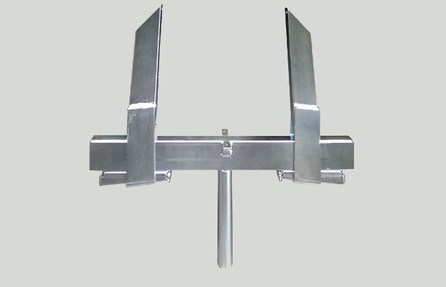 Clamp for inside drop beam