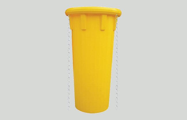 Szállítószalag hulladékot enged le
