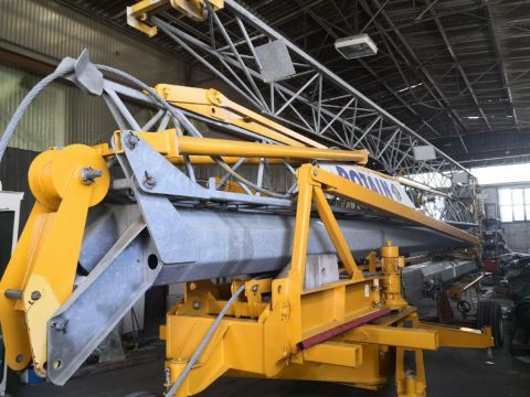 CRANE POTAIN HD16- JIB ARM 24m - YEAR 1999 - COMPLETELY REPAINTED