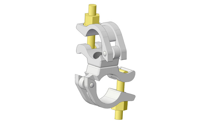EN74-1 swivel coupler
