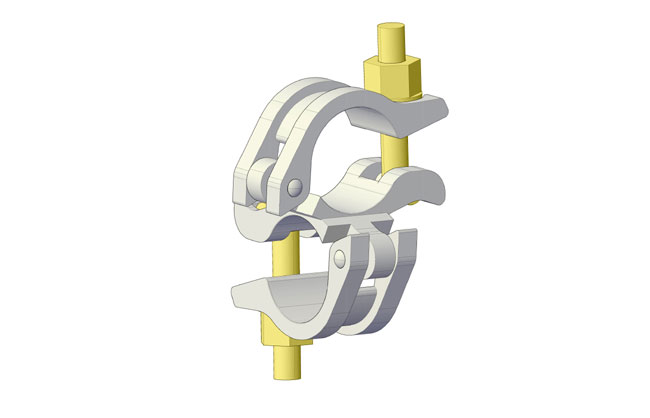 EN74-1 right angle coupler