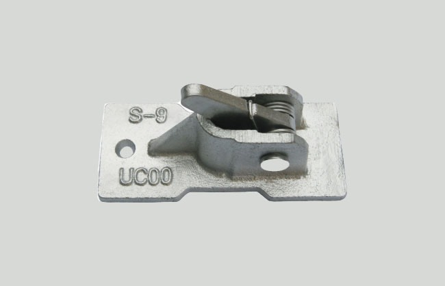 Spring clamp for formwork