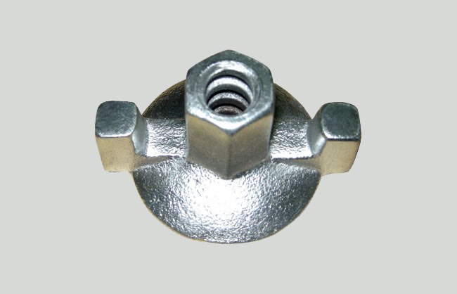 Flange nut for formwork