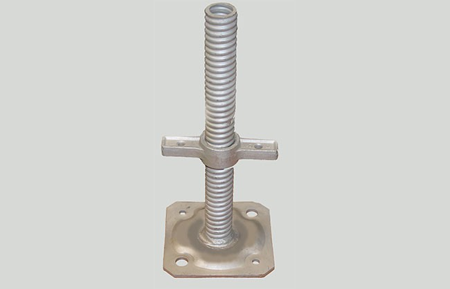 Base jack galvanized