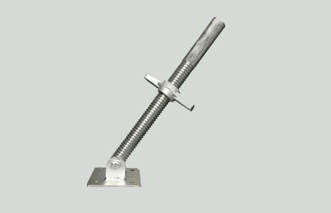 Swivel base jack galvanized
