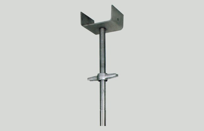 U-shaped fork head galvanized