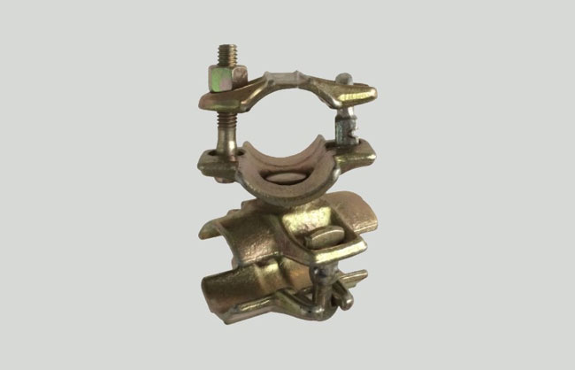 Pin scaffolding swivel coupler