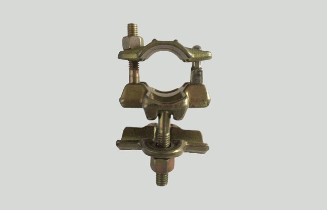 Bushing scaffolding double coupler